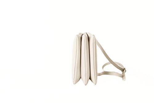 LIA NUMA Cloride, Sacs bandoulière Bianco Sporco (Gesso)