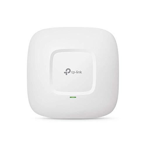 TP-Link EAP245 AC1750 WLAN Access Point (Dualband 1750 Mbit/s mit MU-MIMO, professionelles Design für sehr große Reichweite, passend für Wand- und Deckenmontage, unterstützt 802.3af PoE )weiß