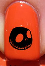 Halloween Jack skellington 2 - Stickers pour ongles YRNAILS