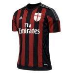 ADIDAS T shirt Maillot de football Du MILAN AC Tshirt Officiel de l'Equipe pour JUNIOR ENFANT (11-12ANS 152cm)