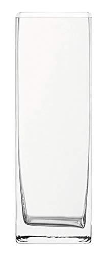 envase, B/H/T: 10,5/30/10,5 cm, handgefertigtes Klarglas, 014137 ()