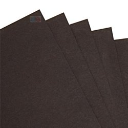 BCreativetolearn BCreative, B003QR7TAS - Tarjetas de Colores (A3, 270 g/m², 100 Unidades), Color Negro