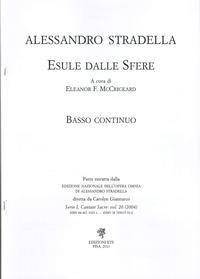Alessandro Stradella. Esule dalle sfere. Basso continuo.
