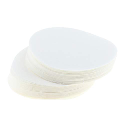 KESOTO 100 Stücke 6cm Einweg Kaffeefilter Filtertüten Filter Papier für Kaffeemaschine, aus Holzfaser