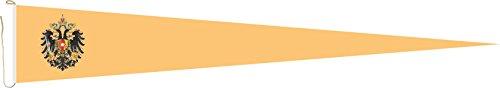 Haute Qualité pour U24 Long Fanion Autriche - Hongrie Drapeau aigle 250 x 40 cm