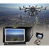 """LILLIPUT 7"""" 664/w FPV Slim Monitor with 5.8ghz 8 Channel Wireless Receiver IPS Screen 1280x800 FPV Monitor W/sunhood FPV Monitor or Aero Photography 16:9 or 4:3 Adjustable Display Ratio"""