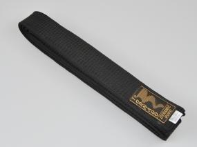 Cintura per judo nera, Lunghezza: 300 cm e Larghezza: 4 cm