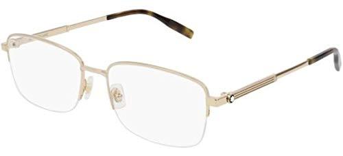 Brillen Mont Blanc MB0028O GOLD Herrenbrillen