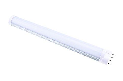 Industrie-leuchtstofflampen (Luxvista 2G11 LED Leuchtstoffröhre 12W Neutralweiß 4000K LED Tube nicht dimmbar 2G11 Stiftsockel Industrie Qualität 320MM wie 24W Leuchtstofflampe (Vor Montage der Lampe müssen Sie den Ballast entfernen))