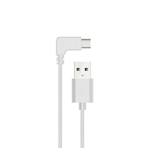 ZORE  Braided Fast Charging Cord 1.5FT 90° Speed Data Type-C Cable For dji Osmo Pocket (AS Show)