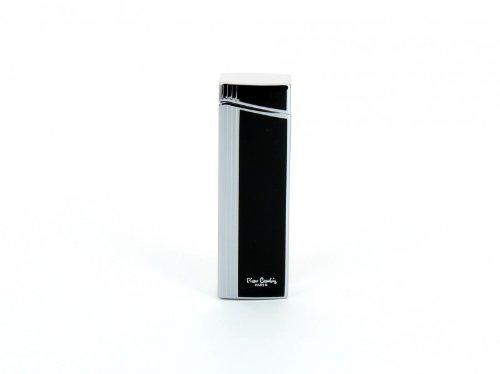 pierre-cardin-lighter-black-chrome-strips
