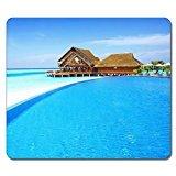 Design Funny Nizza Maldive spiaggia X Mouse Pad durevole tappetino Mouse da Gioco - Nizza Mouse Pad
