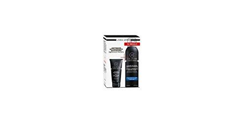 cofanetto uomo antirughe rivitalizzante quotidiano 50 ml + schiuma da barba aderenza perfetta pelli sensibili 200 ml