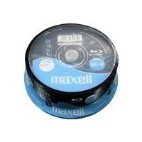maxell BluRay BDR 130 Minuten, 25GB, 4x, 25er Spindel