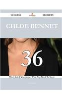 Chloe Bennet: 36 Most Asked Questions on Chloe Bennet - What You Need to Know (Success Secrets)