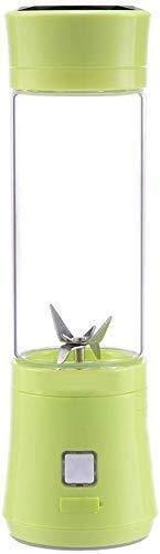 ZH~K Vaso exprimidor portáti Jugo Personal Blender Recargable Copa Electric Glass Squeeze Casualmente...