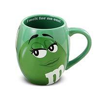 sse, niedlich, beste Tasse für Kaffee, Tee, heiße Schokolade und mehr, Fassungsvermögen: 600 ml, lustige Tasse für Halloween, Bar-Trinkgeschirr, Geschenk von PPH3 Shine grün ()