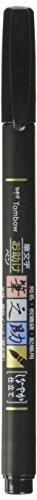 Tombow WS-BS Brush Pen Fudenosuke, weiche Spitze, schreibfarbe schwarz Test