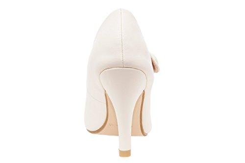 Andres Machado.AM556.Escarpins Style Mary Jane en Soft.Petites et grandes pointures 32/35. 42/45. Pour Femmes. Beige.N