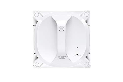 *ECOVACS Robotics WINBOT X Fensterputzroboter – kabellos, flexibel und sicher, mit Fernbedienung, Weiß*