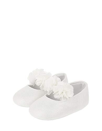 Kleid Bootie (Monsoon Kids Baby - Mädchen Iris Bootie mit Schimmer Feier Booties - Schuhe 12-18 Monate)