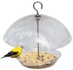 Wonderland PVC Hanging Bird Feeder, 11.8 X 11.8 X 11-inch