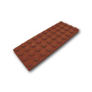 Preisvergleich Produktbild LEGO City - 1 Bauplatte mit 4x10 Noppen im neuen braun