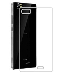 JM Transparent Soft Ultra Slim Back Cover Case Lava Iris X9  available at amazon for Rs.99