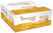 Protein Energy Bar – Original, Peanut Butter Creme – 12 bars by Power Crunch M