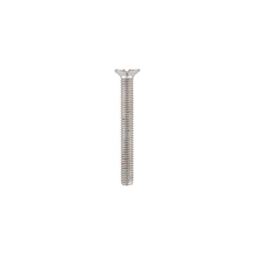 Diamwood - Vis métaux tête fraisée Fendue 5 x 10 mm INOX A4 - Boite de 200 pcs - DIAMWOOD VMFF05010A4