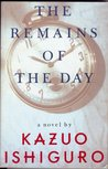 Book cover for The Remains of the Day