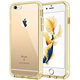 iPhone 6s Plus Hülle, JETech® Apple iPhone 6 Plus / 6s Plus 5.5 Hülle Tasche Schutzhülle Case Cover Bumper und Anti-Scratch Löschen Back für iPhone 6s Plus iPhone 6 Plus 5.5 (Gold)