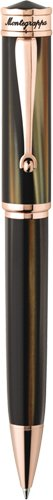 montegrappa-ducale-twist-open-ballpoint-pen-rose-gold-brown-emperador