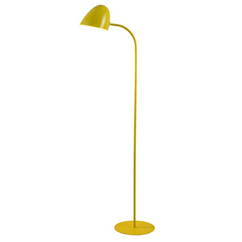 Lampadaire Lampadaire Nordique Lampadaire De Canapé De Salon Lampe De Chevet De Chambre À Coucher Lampe De Table Américaine Simple Lampadaire Vertical (Color : Yellow)