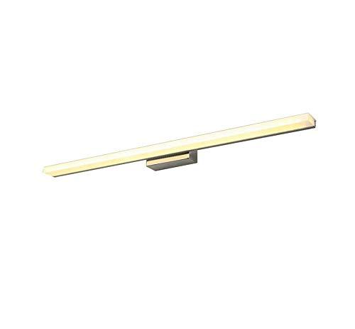 Start Led Spiegel Scheinwerfer/Feuchtigkeitsbeständig Anti-Fog Badezimmerspiegelleuchte Makeup Light (Farbe: Dreifarbiges Licht, Größe: 100CM) -