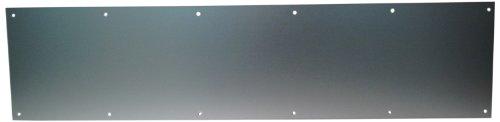 don-jo 90Metall Kick Plate, Satin aus eloxiertem Aluminium finish, 81,3cm Breite x 20,3cm Höhe, 3/162,6cm Dick