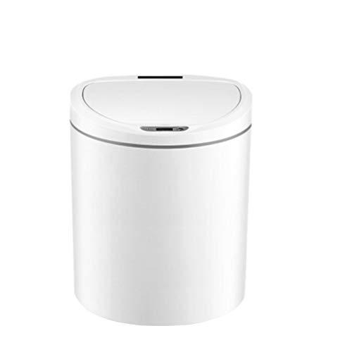 Zlw-shop Secchi per la spazzatura Intelligent Sensor Trash Can Home Large Automatic Kitchen Kitchen Bathroom Trash (Dimensione : 8L)
