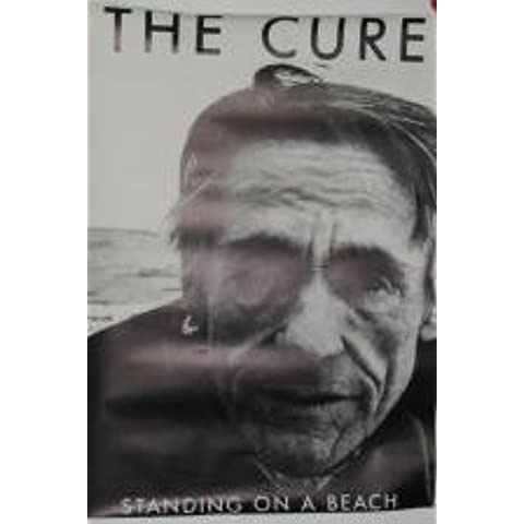 Standing-Cure On The Beach-60 x Cartel-Póster 86 cm