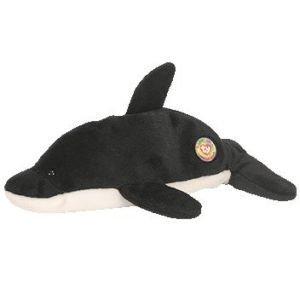 Ty Beanie Babies Offical Club Splash Killer Whale