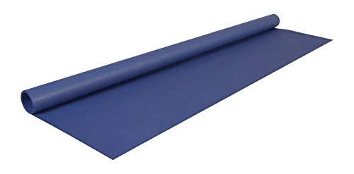 Clairefontaine 95763C Rolle (färbiges Kraftpapier, 3 x 0,70 m, 65 g, PEFC, ideal für Ihre Bastelprojekte) 1 Stück marineblau