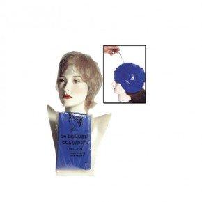 Bonnet coloriste bleu par 24