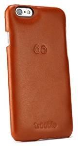 """trooble echt-leder luxus Backcase für das iPhone 6-6s Hülle - Tasche - Case - Cover für Apple iPhone 6 4.7"""" Zoll und iPhone 6s - echt-leder - Rückschale- braun"""