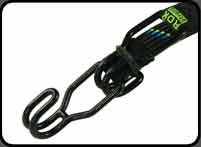 ROK STRAP BUNGIE STRAP in black - 750mm long * 20mm wide - HEAVY DUTY - inexpensive UK light shop.