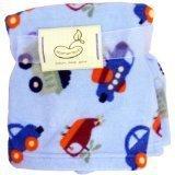 Micro Polar Transportation Polar Fleece Blanket by Bean Sprout