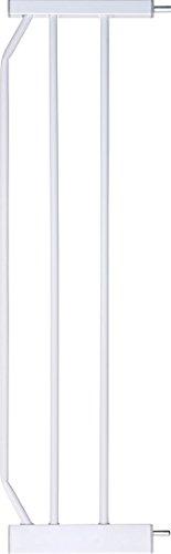 Baby-gate Türen Französisch (IB-Style - Verlängerungen / Erweiterungen / Zubehör für Tür- und Treppenschutzgitter MIKA BERRIN KAYA Weiß | 4 Längen | 20cm)