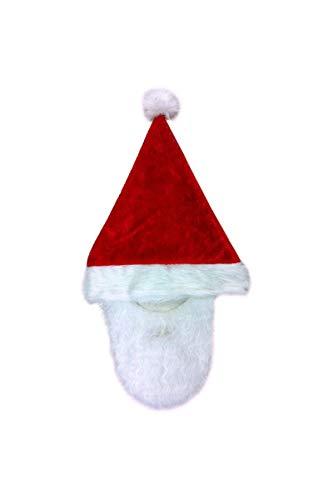 Guirca Mütze mit Weihnachtsmann Barba Universañosl añosdulto Einfarbig