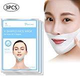 LayOPO V Form Maske, V Face Dünne Gesichtsmaske,V Linie Kinnstraffende Lifting Schlankheitsmaske, Feuchtigkeitsspendende Straffende Gesichtsmaske, Faltenreduzierung und Anti-Aging