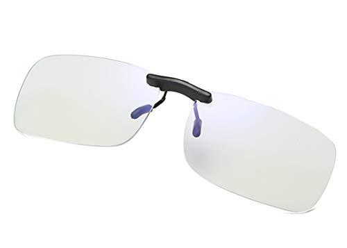 Filtro luz Azul Gafas Clip on Computadora Gafas Antiluz