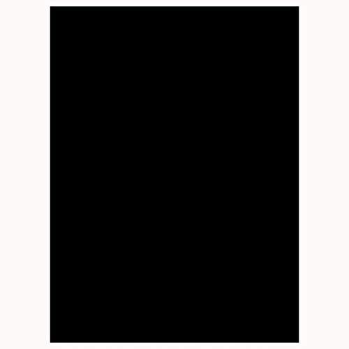 COOJA Privacidad Vinilo Ventana Electrostatico, Film Ventana Vinilo Oscuro Estatico Vinilo Autoadhesivo Película de Ventana Opaco Pegatina para Cocina Cuarto Oficina 45x200cm -Negro