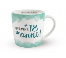 Idea Regalo - TAZZA ENJOY 18 ANNI 076435